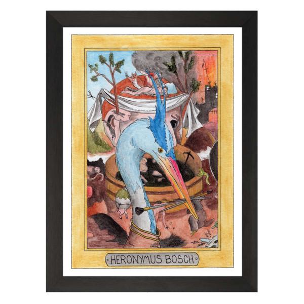 Heronymus Bosch / Hieronymus Bosch / Zooseum Art Print
