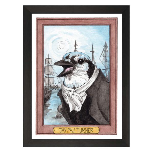 Jay MW Turner / JMW Turner / Zooseum Art Print