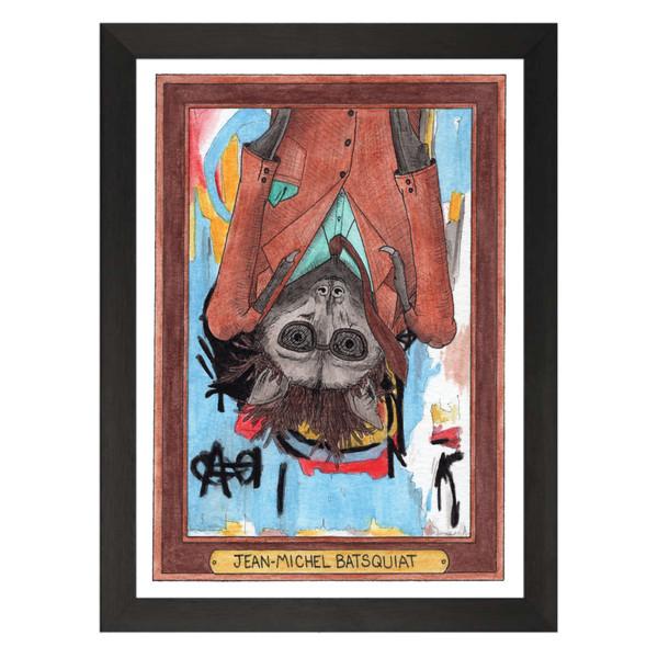 Jean-Michel Batsquiat / Jean-Michel Basquiat / Zooseum Art Print