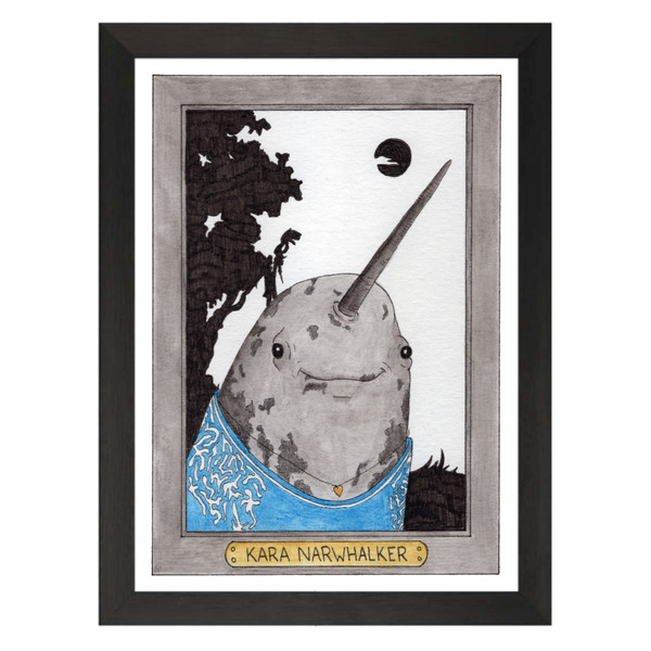 Kara Narwhalker / Kara Walker / Zooseum Art Print