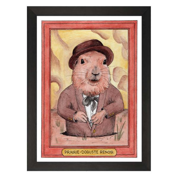 Prairie-Doguste Renoir / Pierre-Auguste Renoir / Zooseum Art Print