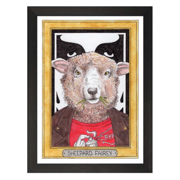 Sheepard Fairey / Shepard Fairey / Zooseum Art Print