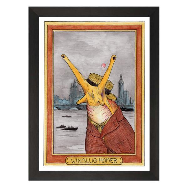 Winslug Homer / Winslow Homer / Zooseum Art Print