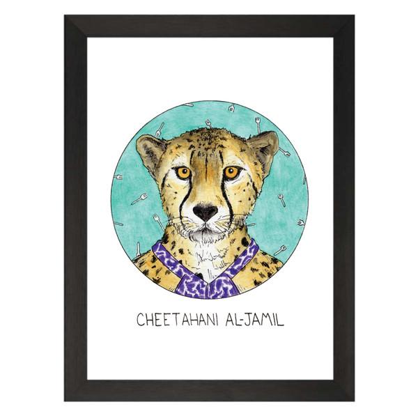 Cheetahani Al-Jamil / Tahani Al-Jamil / The Good Place Petflix Art Print