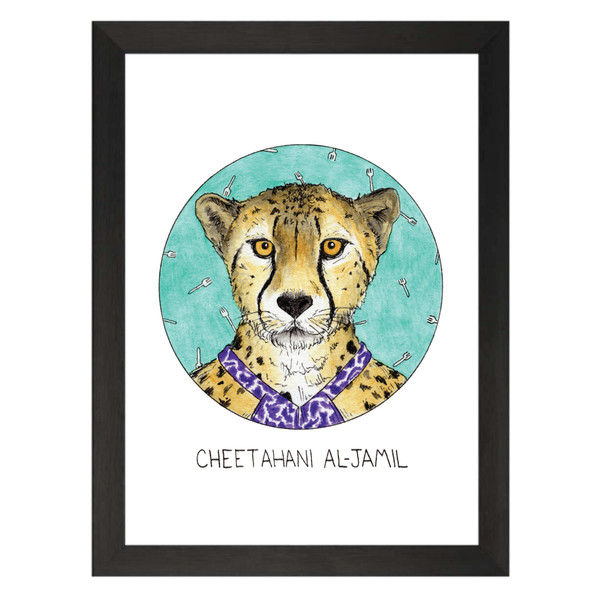 Cheetahani Al-Jamil / Tahani Al-Jamil / The Good Place Petflix Art Print