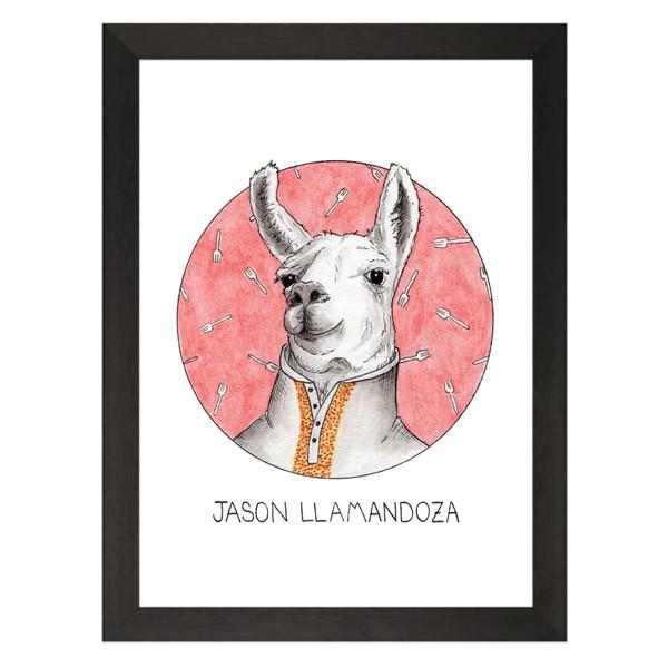 Jason Llamandoza / Jason Mendoza / The Good Place Petflix Art Print