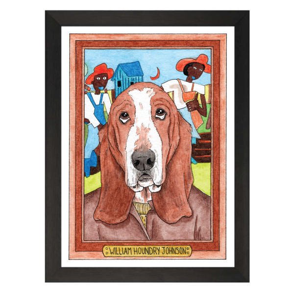 William Houndry Johnson / William Henry Johnson / Zooseum Art Print