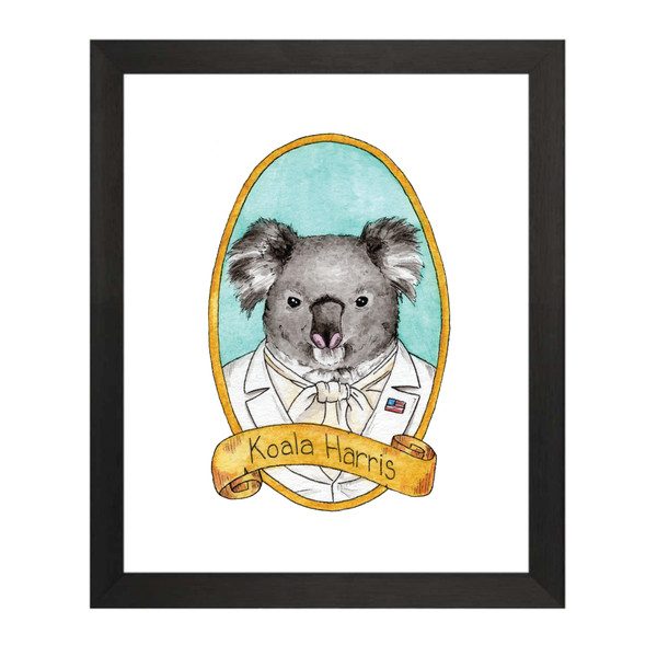 Koala Harris - Kamala Harris PreZOOdents Art Print