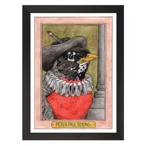 Peter Paul Robins Zooseum Art Print