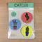 Catcus Magnet 3 Pack - Number 1