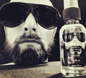 "Boss Man"" beard oil. All natural, 100% vegan premium quality."