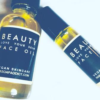 Beauty FACE OIL LG 2oz