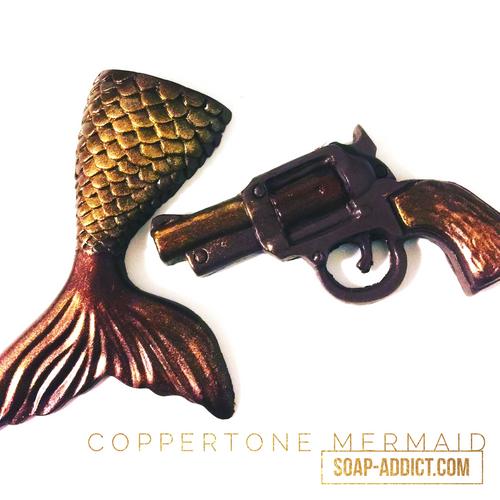 "Mermaid Tail - Coppertone  ""Gun"" Sold separately."