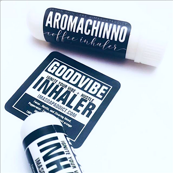Ignite your vibe with our GOOD Vibe Inhalers.. Lift up your mood and your hustle instantly after you smell this amazing blend of organic essential oils. #protectyourenergy #protectyourvibe
