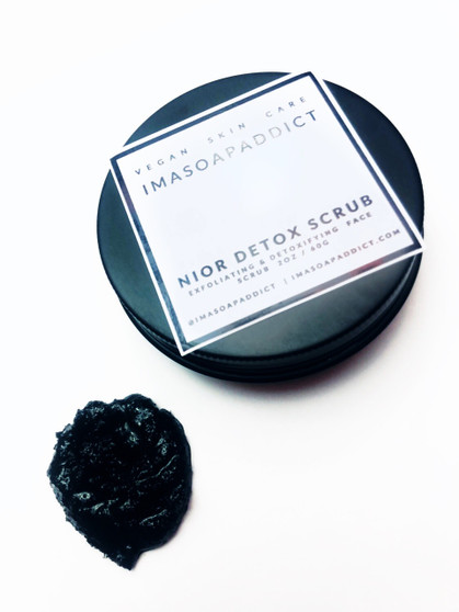 Nior Detox Face Scrub removes dead skin, it also boosts circulation and stimulates the production of collagen in your body, a protein that helps fight wrinkles and keeps skin looking young and soft.