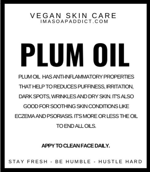 Plum FACE OIL