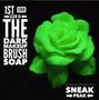 First ever glow in dark makeup brush soap!