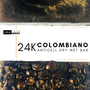 COLOMBIANO 24K AntiCell   - Wet Absorption     WET SIDE Back  AntiCell 24K  - Dry Exfoliate   DRY SIDE Front