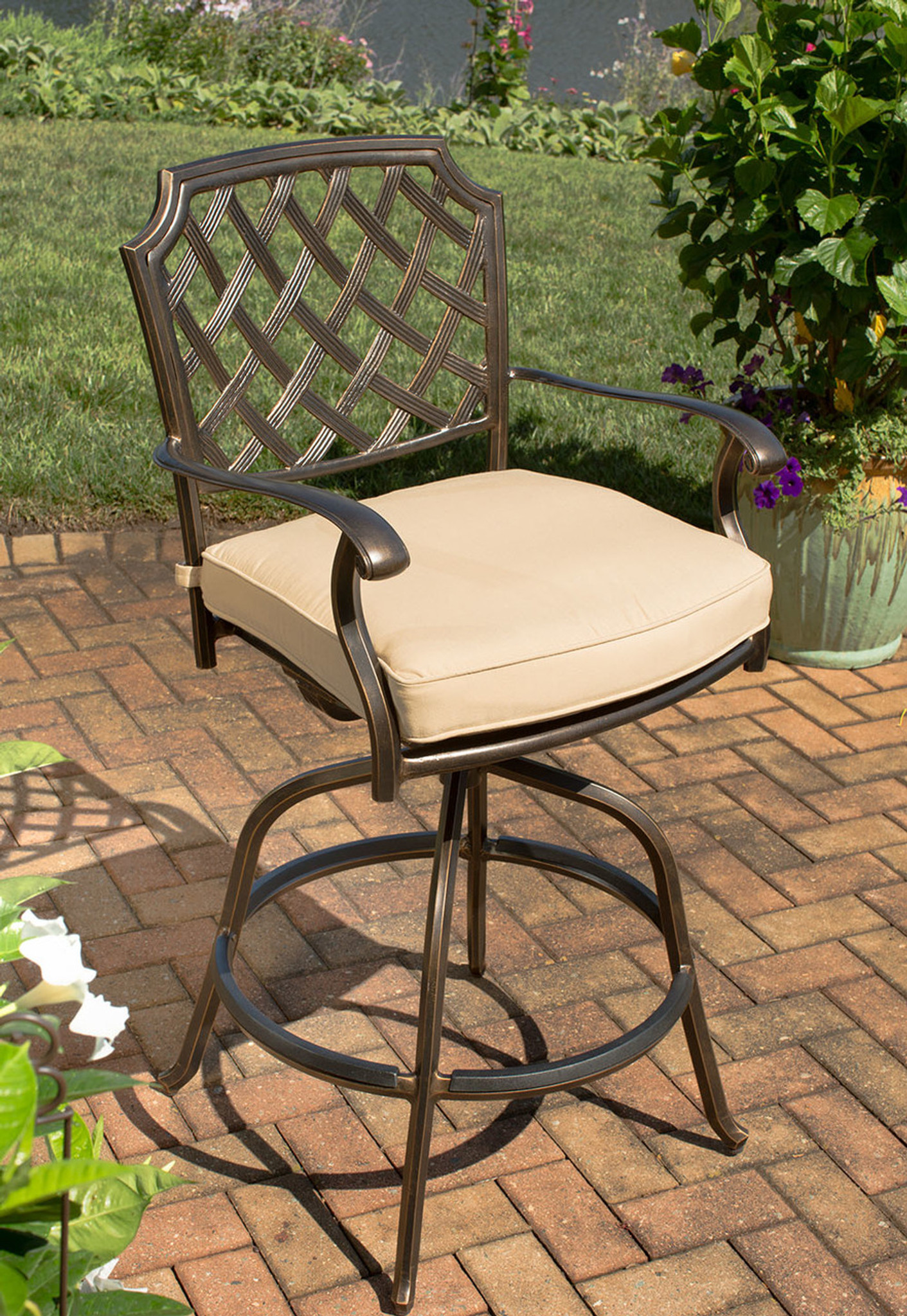 Admirable Heritage Swivel Bar Stool Ocoug Best Dining Table And Chair Ideas Images Ocougorg
