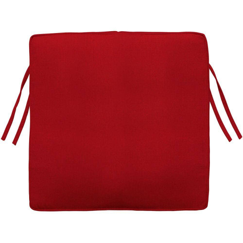 Seat Cushion - Canvas Jockey Red