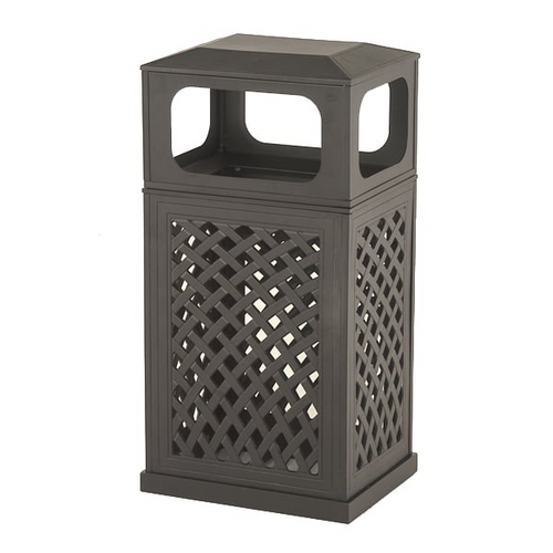 Hanamint_Newport_outdoor_trash_can_receptacle