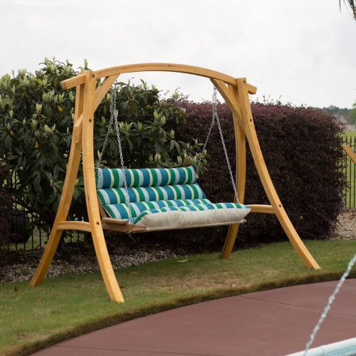 Hatteras double swing  outdoor furniture