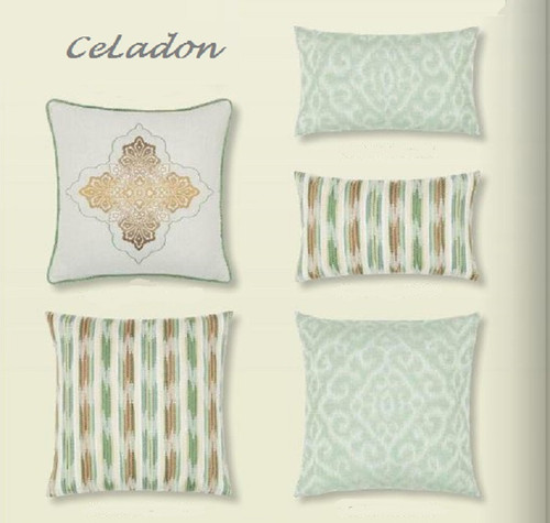 Elaine_Smith_Outdoor_Pillows-Los_Angeles_Celadon