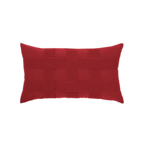 Elaine_Smith_Pillows_Basketweave_Rouge_Lumbar_ND19-Elaine_Smith_Basketweave_Rouge-Elaine_Smith_pillows-Red_outdoor_pillows-img7.jpg