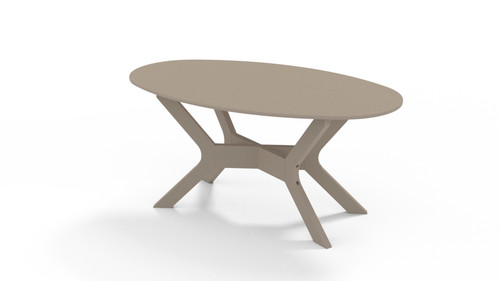 Wexler Oval MGP Coffee Table