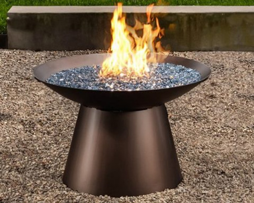 """Basso 36"""" Round Chat Height Fire Pit"""