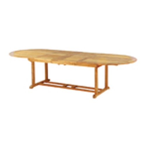 "Essex 114"" Oval Extension Dining Table"