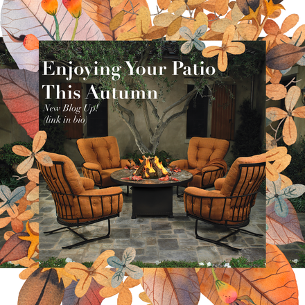 Enjoying Your Patio this Autumn