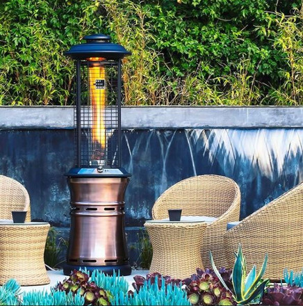 ​Keep it Cozy in Los Angeles with a Free-Standing Outdoor Patio Heater