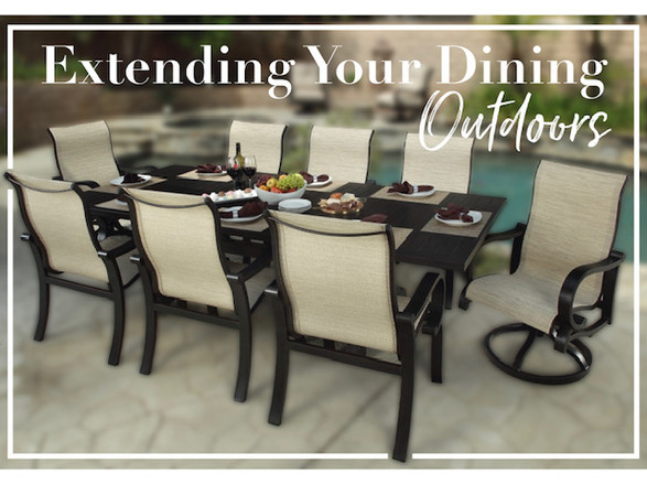Extending Your Dining Outdoors