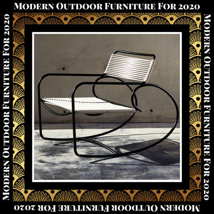 Modern Outdoor Furniture For 2020