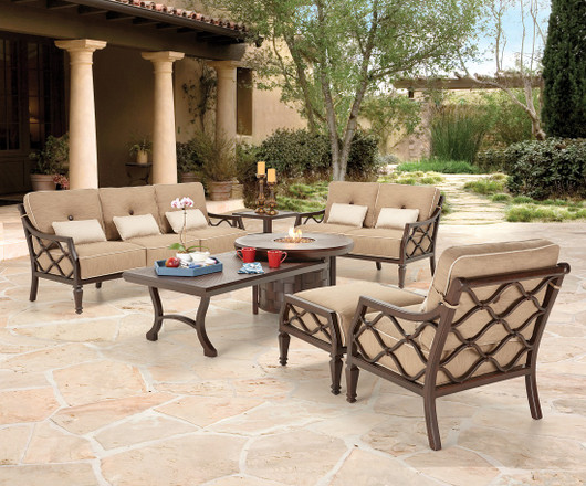 A Focus on Castelle Luxury Patio Furniture