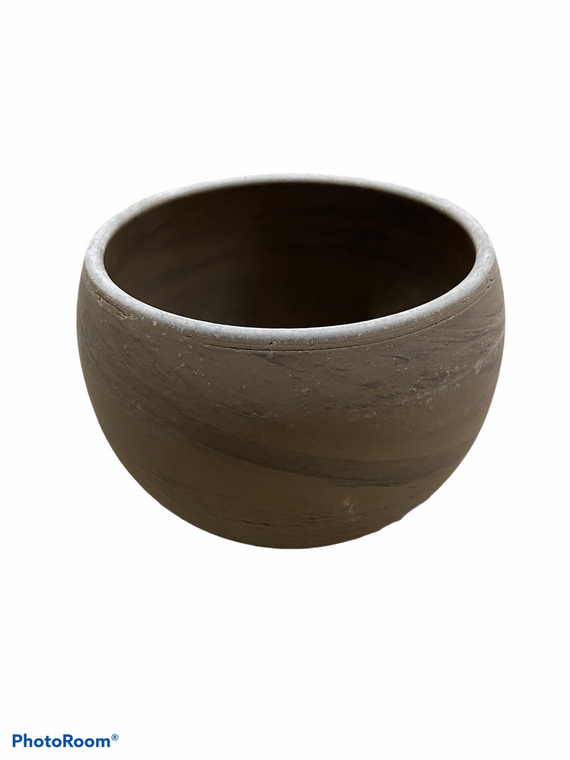 "Basalt Terracotta Circular Pot - 5"""