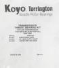 TH400|4L80E Torrington Bearing Kit (1965-UP)