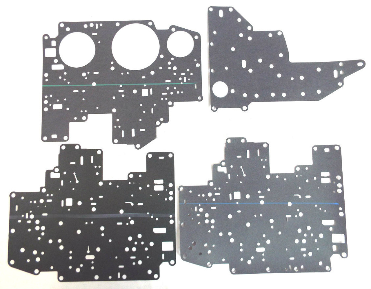 Ford 4R70W 4R75W 4R75E Transmission Valve Body Cover Plate Gasket Set ALL YEARS