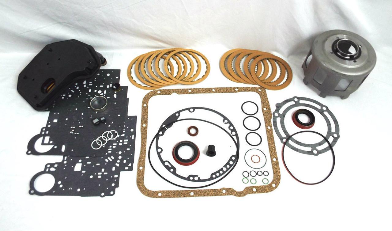 700R4/4L60E Transmission 3-4 Clutch Burn Up Repair Kit w/ Sun Shell
