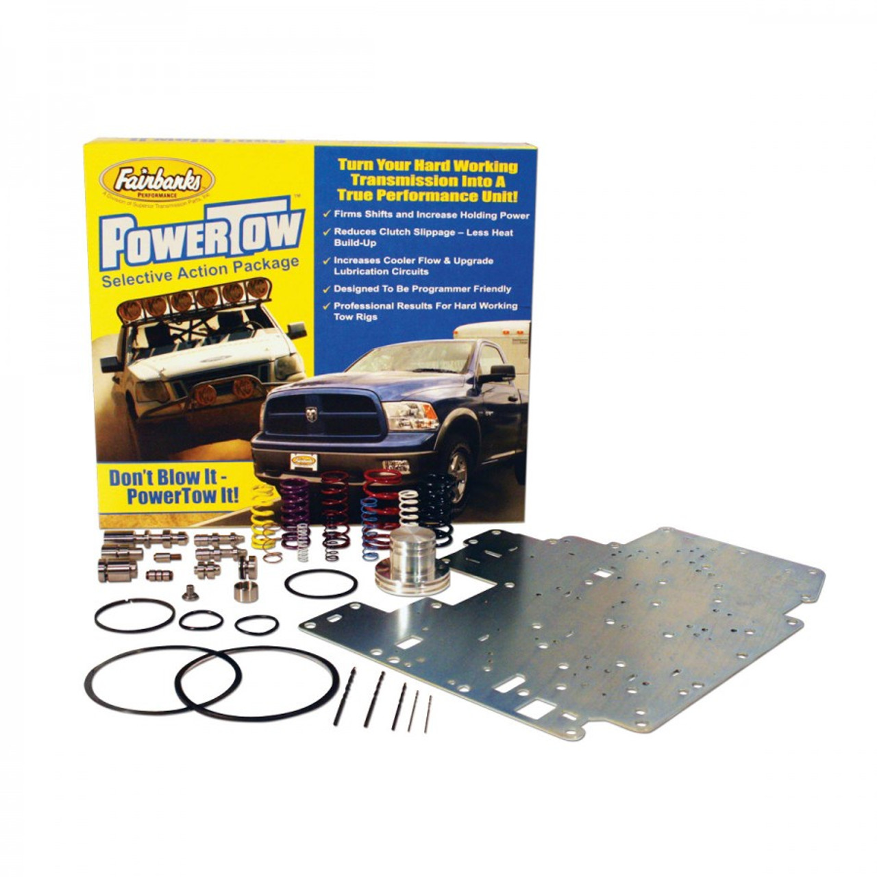 Ford AODE 4R70E/W 4R75E/W Transmission Powertow Performance Shift Kit by Fairbanks