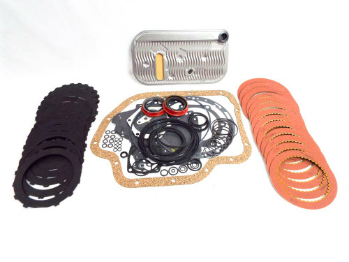 TH400 MASTER OVERHAUL KIT REBUILD BANDS SEALS GASKETS CLUTCHES TURBO MODULATOR