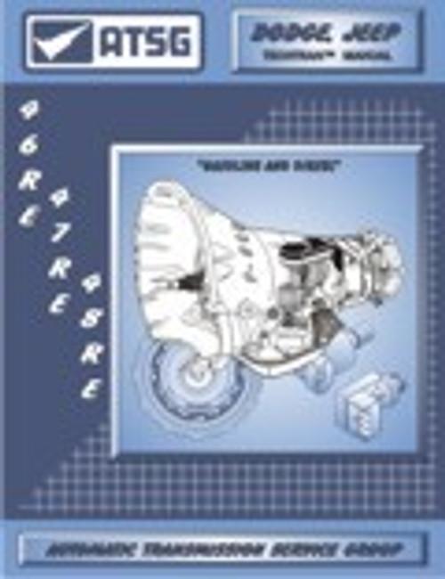 A518 A618 46 46re 48re Atsg Tech Service Rebuild Manual Global Transmission Parts