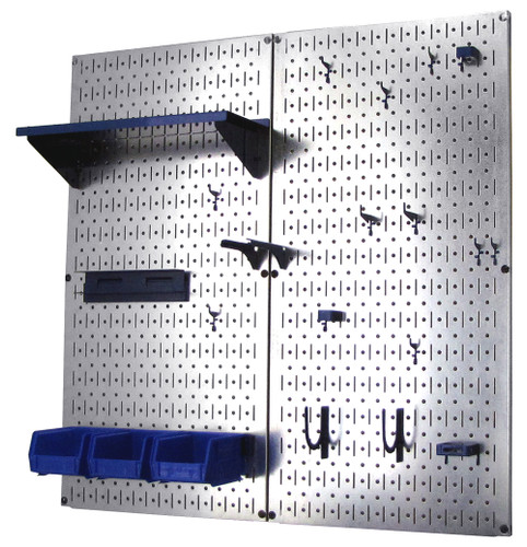 Wall Control Metal Pegboard Makes Great Shadow Board For: Metal Pegboard Tool Organizer Utility Kit