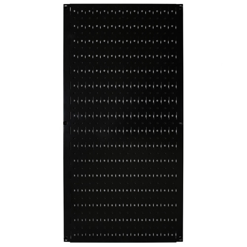 Black Peg Board Metal Pegboard 32 X 16 Wall Control