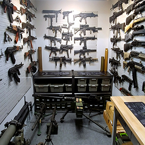 Gun Closet Organizer