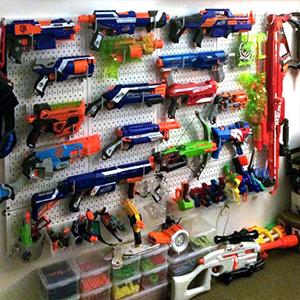NERF Gun Wall Storage