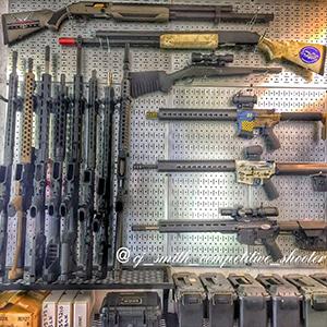 Gun Wall Storage