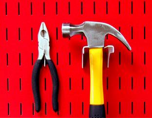 Garage Tool Pegboard