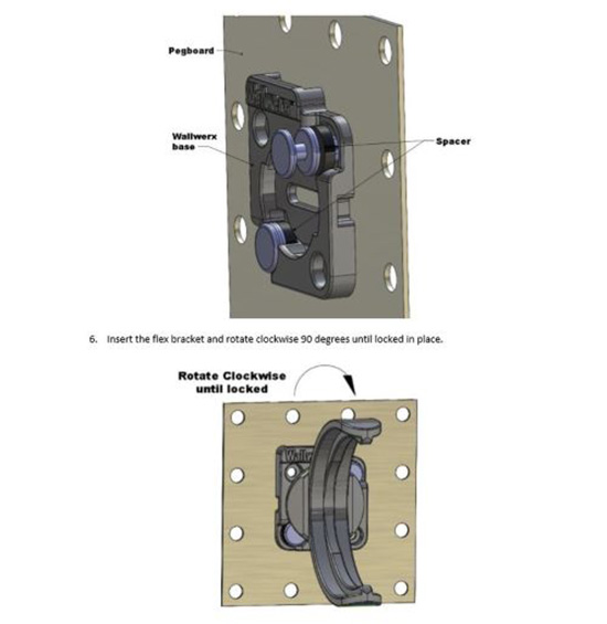 How to Build Mason Jar Storage Rack for Wall Pegboard Organization